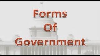 Forms of Goverment -Civics l CBSE Class VI Social Science