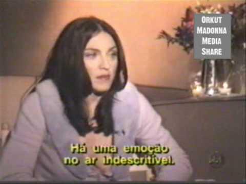 (P4) Madonna's Bizarre Interview With Brazilian Journalist