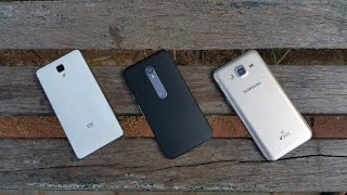 Galaxy J5 Vs Moto G3 Vs Mi 4 -CAMERA REVIEW