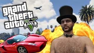 CAR TO THE FACE! (GTA 5 Online Funny Moments)