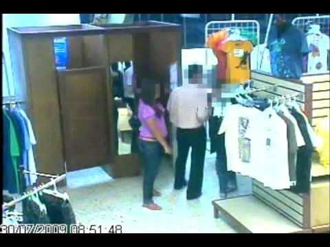 Camaras de Seguridad Cali Robo en Supermercado. cámaras ocultas ip