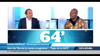 Papa Wemba: Mort du