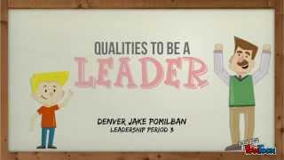Qualities To Be A Leader