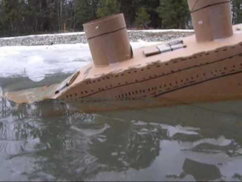 The Incredible footage of the sinking of the Carboardia