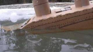 The Incredible footage of the sinking of the Carboardia!