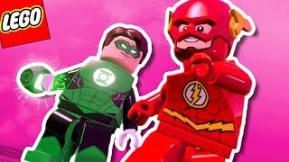 FLASH E LANTERNA VERDE EM ZAMARON | LEGO Batman 3 #24