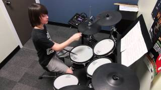 Back in Black - ACDC - Drum Cover - Gregory M.