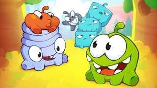 Cut the Rope 2: Chapter 4 City Park - All Levels Walkthrough 3 STAR | 4-1 to 4-24