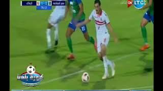 عبدالناصر زيدان فضيحة في ماتش الزمالك و مصر المقاصة