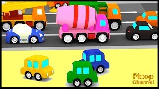 Cartoon Cars - ROAD REPAIRS! - Cartoons for Children - Childrens Animation Videos for kids