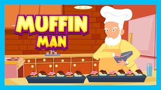 MUFFIN MAN - Nursery Rhymes For Kids || English Poems - Animated Rhymes