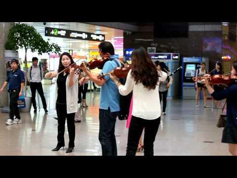 120906 네오필하모닉오케스트라 김해공항 플래시몹