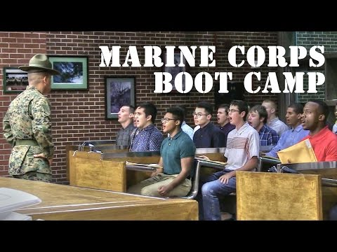 Welcome to Parris Island – USMC Boot Camp
