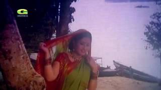 Lal  tip sobos sari rupe rupe  jolok mari Amin Khan & Purnima (Bhul Sobi Bhul movie songs)