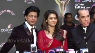 Shahrukh Khan & Kajol - Colors Stardust Awards Red Carpet 2015