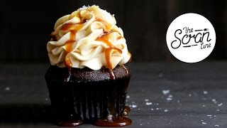 CLASSIC SALTED CARAMEL CUPCAKES - The Scran Line