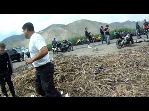 ACCIDENTE DE MOTO CBR 1000 2011