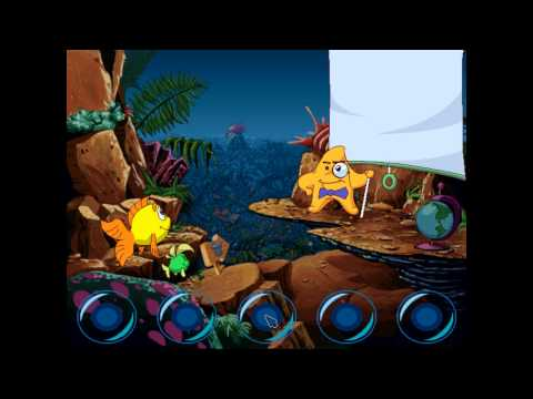 Freddi Fish and the Case of the Missing Kelp Seeds Humongous Entertainment 1994 HD