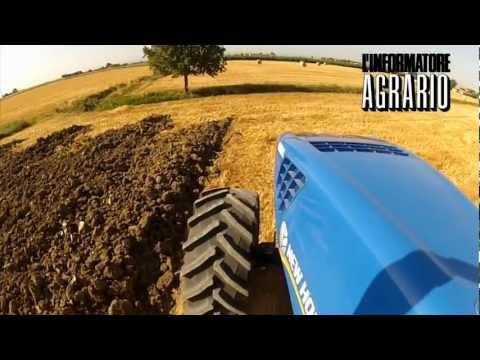 New Holland T8.390 prova in campo MAD 2012