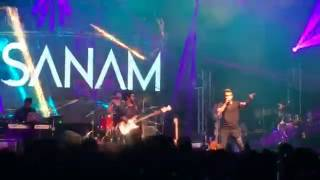 Aaj Kal Tere Mere Pyaar Ke Charche | SANAM live in Holland 2k17