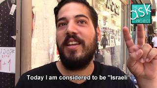 """Israelis: Do you see Arab-Israelis as """"second-class"""" citizens?"""