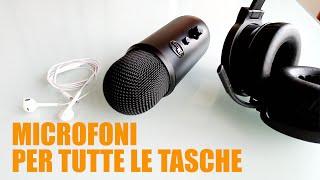 Quale microfono scegliere per registrare video su youtube? Ce ne sono per tutte le tasche!