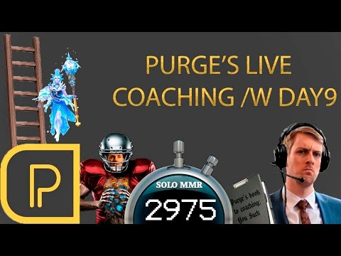 Live Coaching Day9 ~2975 MMR Crystal Maiden