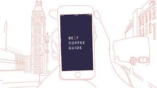 Best Coffee Guide. App launch.