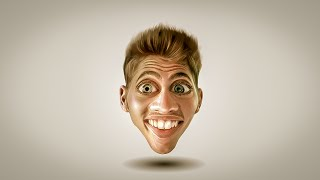 Photoshop Tutorial | How to Make Caricature from a  Photo