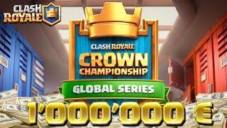 Clash Royale - TOURNOI 1'000'000$ Crown Championship Jour 5 !