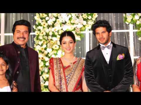 Malayalam actor Mammoty son grand wedding celebrations