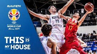 Korea v China - Highlights - FIBA Basketball World Cup 2019 - Asian Qualifiers