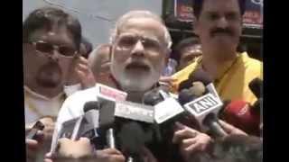 Shri Narendra Modi's statement from Jagganath Temple, Puri, Odisha