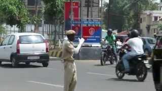 Bhubaneswar Dancing Traffic Police Benudhara Sahu In action Part 2