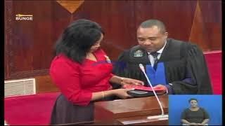 Shuhudia kiapo cha Mbunge wa Babati mjini, Paulina Gekul