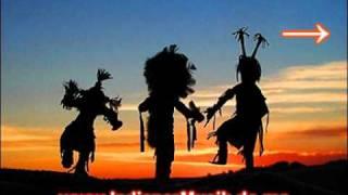 Indianer Musik mit Gesang und Trommeln - Indianischer Gesang - Indianische Ureinwohner Musik