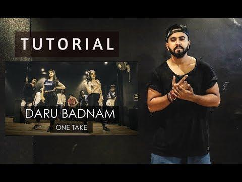 DARU BADNAAM   Dance Tutorial   Tejas Dhoke Choreography   DanceFit Live