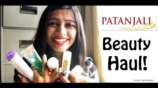 Part 1- Patanjali Haul! - HONEST Review - (Beauty Products for Skin & Hair) // SuperWowStyle Prachi