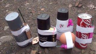 Bombashop firecrackers vs deodorant - Dangerous experiment