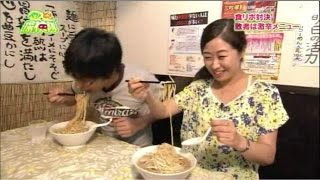 リンクアップとっしーvsまちゃこ☆食レポ対決