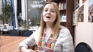 Russian girl sings beautifully Rusa canta hermoso