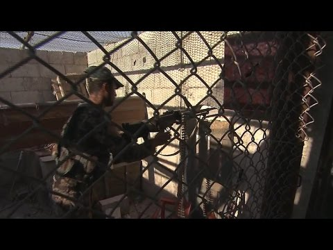 U.S.-backed fighters advance in city of Raqqa
