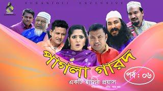 Pagla Garod (পাগলা গারদ ) - Epi 06 | Siddik | Humayra Himu | Shahin | Luton Taj | Bangla Eid Natok