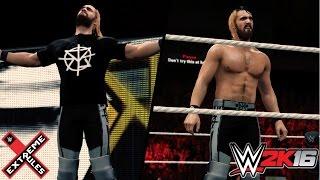 WWE 2K16: Seth Rollins' Return Attire from Extreme Rules 2016!