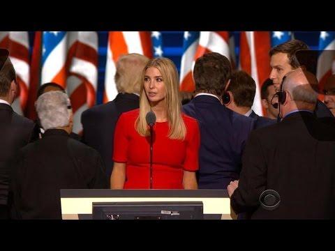 Ivanka Trump's role in dad's campaign