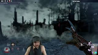 Dead by Daylight RANK 1 FREDDY! - TRACKING THEIR POSITIONS!