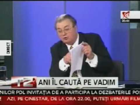 Vadim Tudor: M-au facut pedofil, zoofil, Benny Hill !
