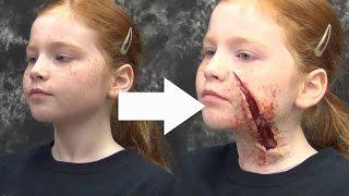 Horror Halloween Makeup: Gel-10 & New Makeup Kit