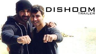 Dishoom Official TRAILER ft John Abraham, Varun Dhawan RELEASES