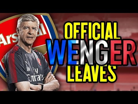 BREAKING: Arsene Wenger LEAVES Arsenal! | #FDReacts